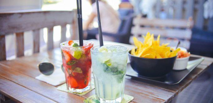 cocktails op vakantie